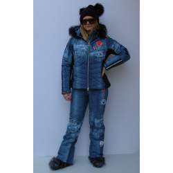 Ženski komplet jeans SNOW HEADQUARTER 8785