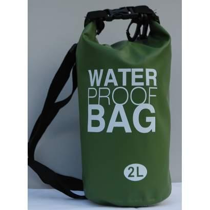 Dry bag Water proof 2L maslinasto zeleni
