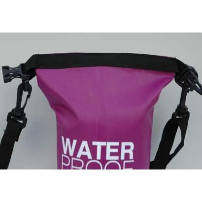 Dry bag Water proof 2L ljubicasti