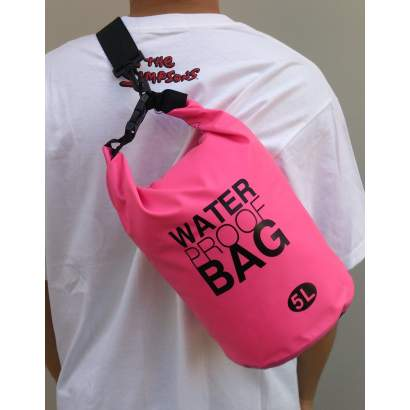 Water proof Dry bag 5L roze