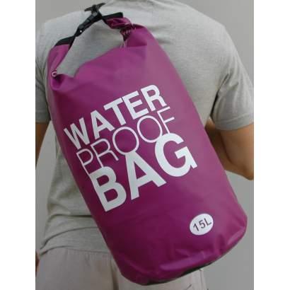 Water proof Dry bag 15L jednobojni