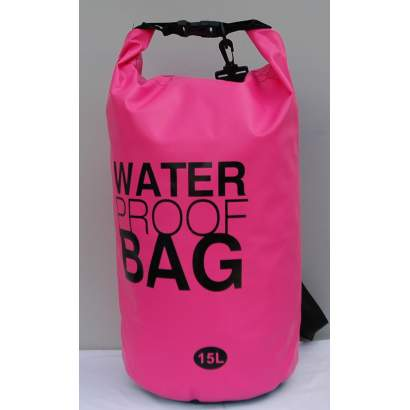Water proof Dry bag 15L roze