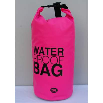 Water proof Dry bag 20L roze