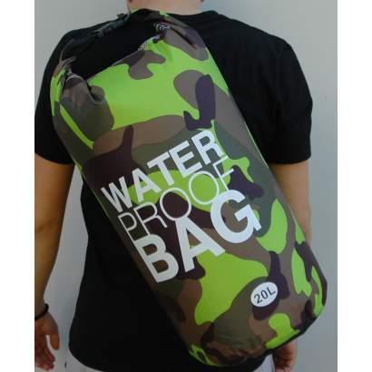 Water proof Dry bag 20L miitary zeleni