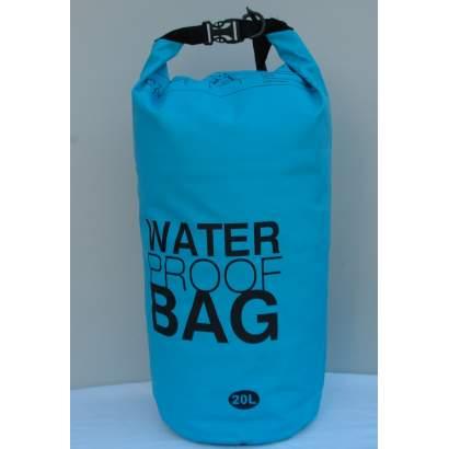 Water proof Dry bag 20L svetlo plavi